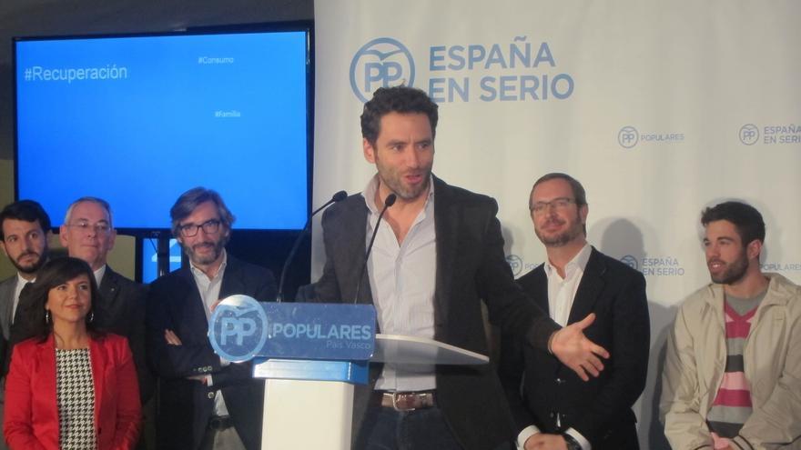 """Sémper afirma que el PP quiere """"ser útil en Madrid al tejido industrial, empresarial y al emprendedor vasco"""""""