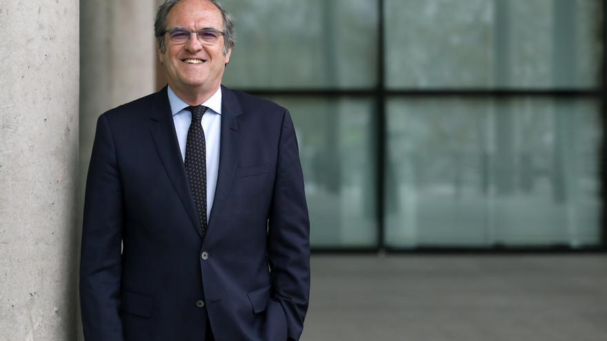 El portavoz del PSOE en la Asamblea de Madrid y candidato a la moción de censura, Ángel Gabilondo.