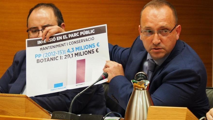 Rubén Martínez Dalmau, durante la presentación de las inversiones
