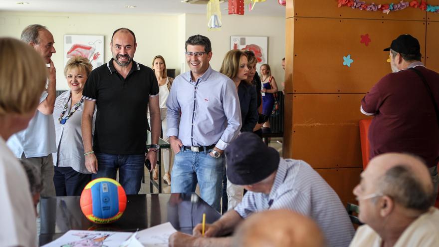 Jorge Rodríguez, en una visita a l'Hospital Psiquiàtric de Bétera