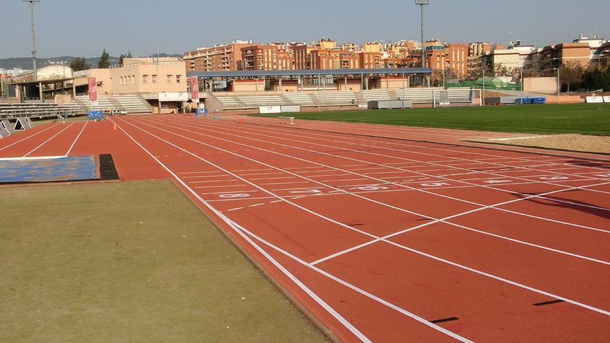 Instalaciones deportivas municipales El Fontanar donde se harán las pruebas físicas de Sadeco.