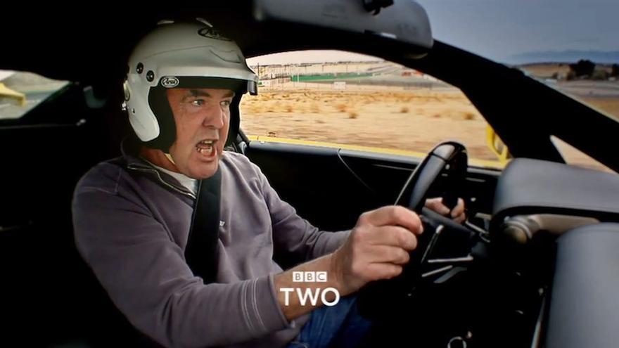 Jeremy Clarkson, en una promo de Top Gear en BBC.