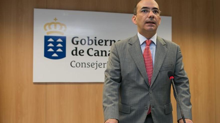 Roberto Moreno, director del Servicio Canario de Salud.