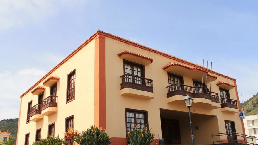 Ayuntamiento de Puntallana. Foto: palmerosenelmundo.com