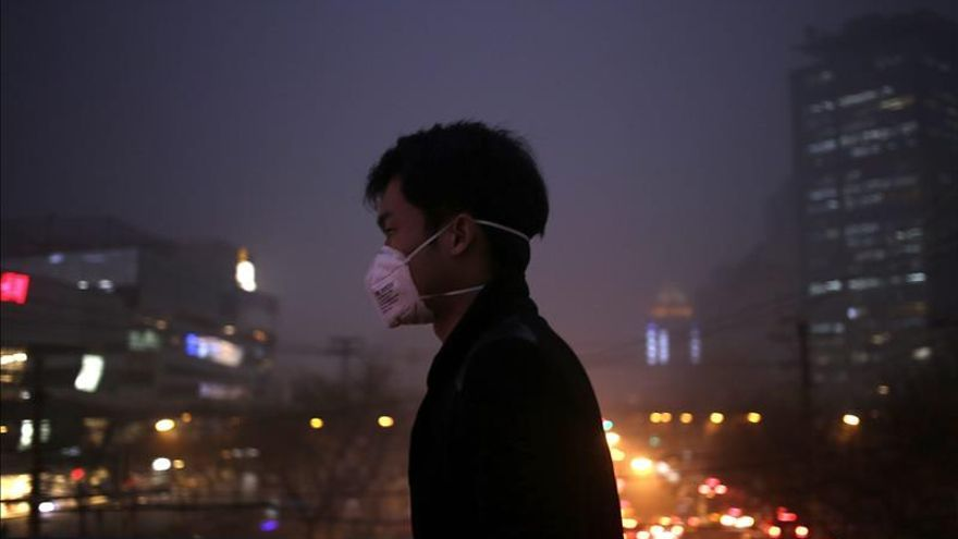 Pekín activa una nueva alerta por contaminación poco después de registrarse récords de smog
