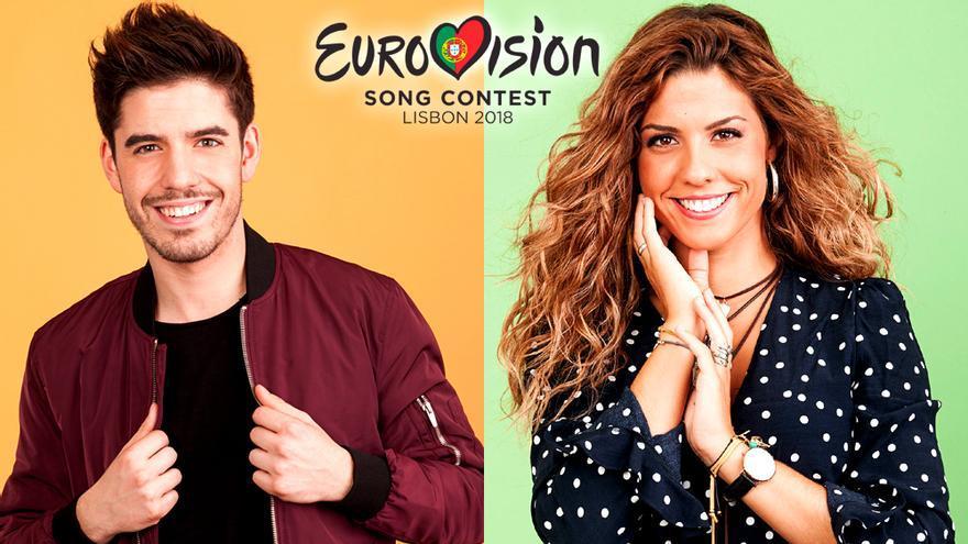 Miriam y Roi de OT, jueces profesionales de Eurovisión 2018
