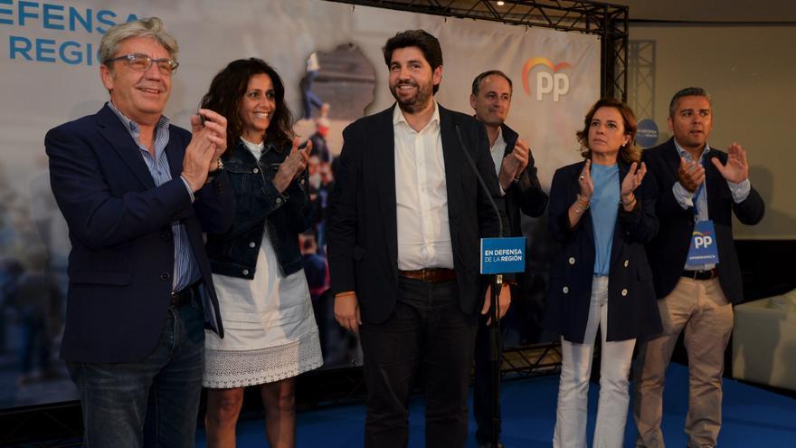 El presidente de Murcia analizó los resultados y habló de pactos poselectorales