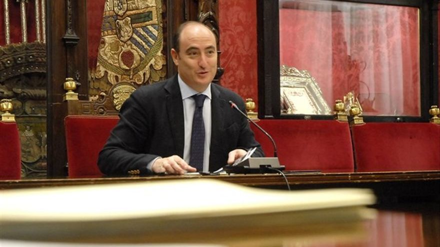 Juan García Montero en rueda de prensa | EP