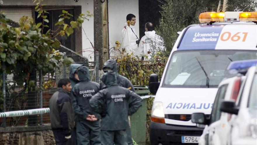 Una joven resulta intoxicada por un escape de gas en su casa en Lalín