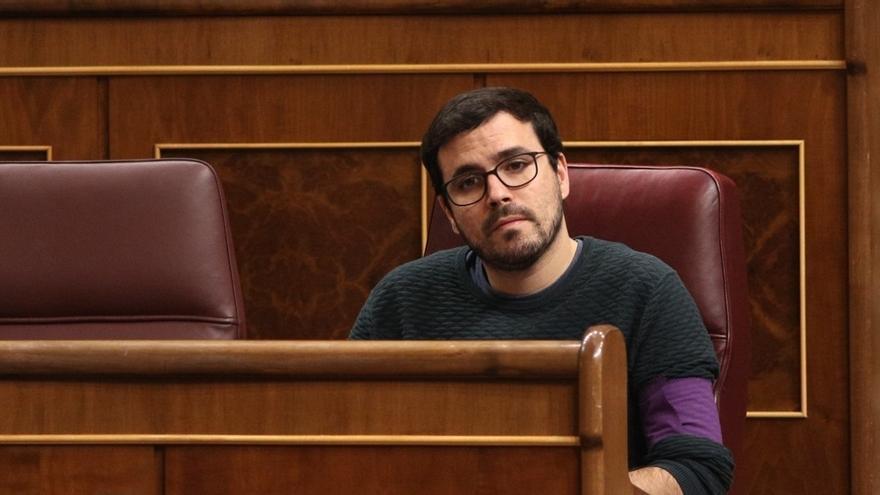 """Alberto Garzón dice que """"hace falta una izquierda fuerte y radical"""" y apuesta por """"la confluencia"""""""