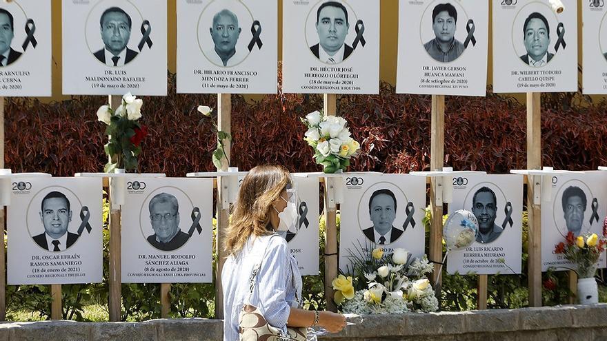Pese a tener el más alto índice de muertes por Covid cada 100 habitantes, Perú va a elecciones el próximo domingo