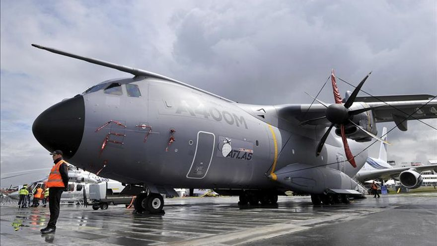 El primer Airbus A400M espera su entrega en Sevilla para antes del verano