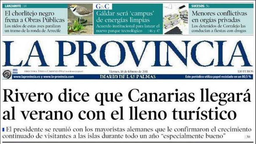 De las portadas del día (18/02/2011) #4