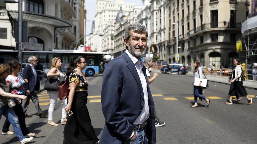 Julio Rodríguez, secretario general de Podemos Madrid, en una imagen de archivo.