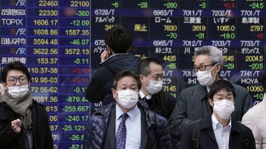 El Nikkei pierde un 0,04 % después de cuatro sesiones de ganancias