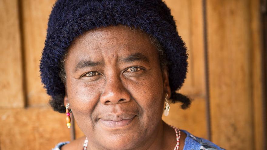 Barbarita Lara, primera mujer negra concejala en Ecuador: Foto: Salva Campillo_Ayuda en Acción