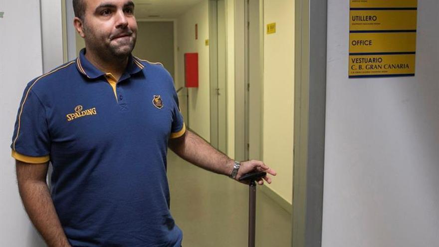 El técnico grancanario Víctor García