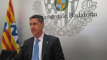 Xavier Garcia Albiol, alcalde de Badalona.