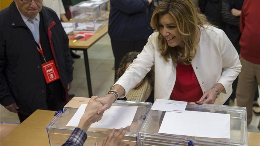 """Susana Díaz cree que las elecciones van a ser """"clave"""" para la historia de España"""