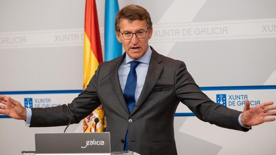 """Feijóo ratifica que las cuentas de 2020 peligran e incumplirá el déficit si hay """"colapso"""": """"No voy a recortar"""""""