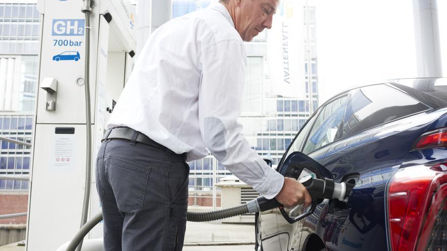 El Mirai es el modelo de pila de combustible de Toyota.