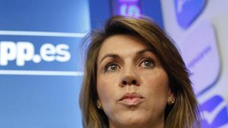 Presidenta del PP, María Dolores de Cospedal