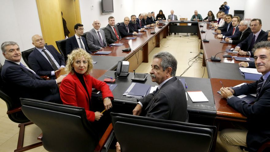 Presentación del proyecto minero de Emerita Resources en el Gobierno de Cantabria. | LARA REVILLA
