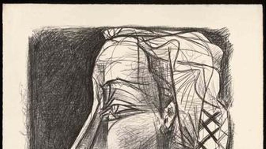 Grabado de Picasso.