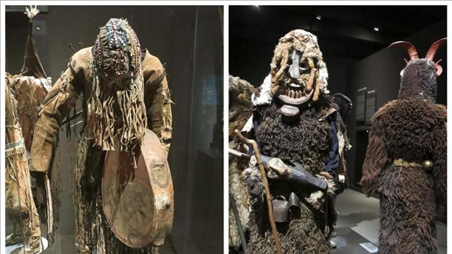 El traje del chamán, vehículo para contactar con los dioses del caos