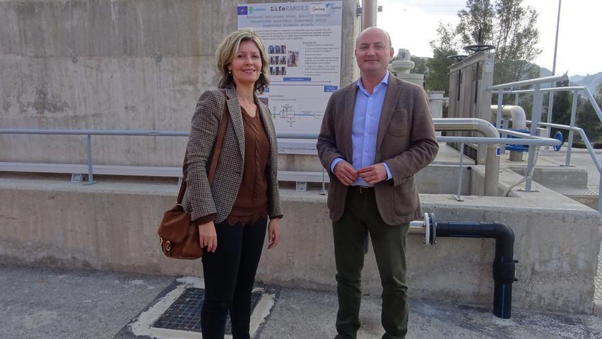 La depuradora de Blanca reduce los costes de tratamiento y mejora de la calidad del agua con un sistema pionero en Europa