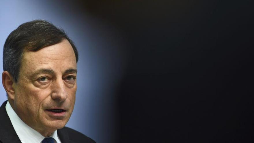 Draghi pide completar la unión bancaria con garantías de depósitos uniformes