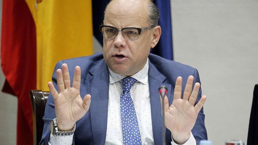 El consejero de Presidencia del Gobierno de Canarias, José Miguel Barragán. EFE/Cristóbal García