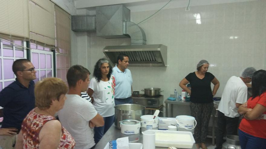 Curso sobre elaboración artesana de quesos celebrado en Villa de Mazo.