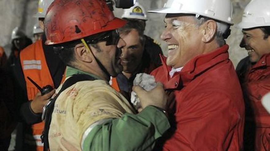 Del rescate en la mina chilena #1