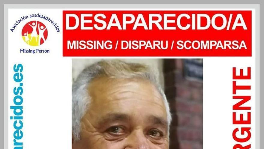 Cartel de la desaparición de José Alberto González