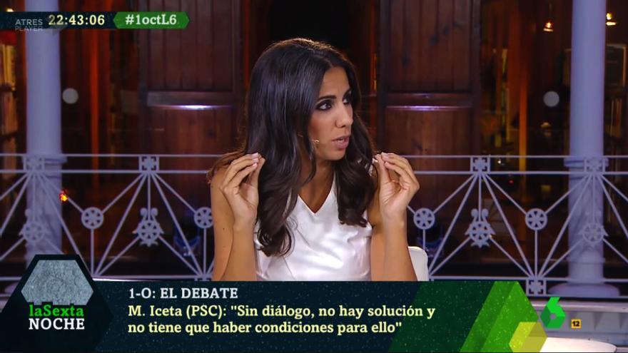 """Ana Pastor moderó el debate por el referéndum de """"laSexta Noche"""""""