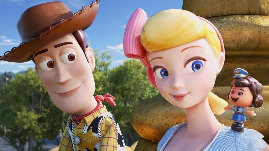 Woody y Betty en 'Toy Story 4'