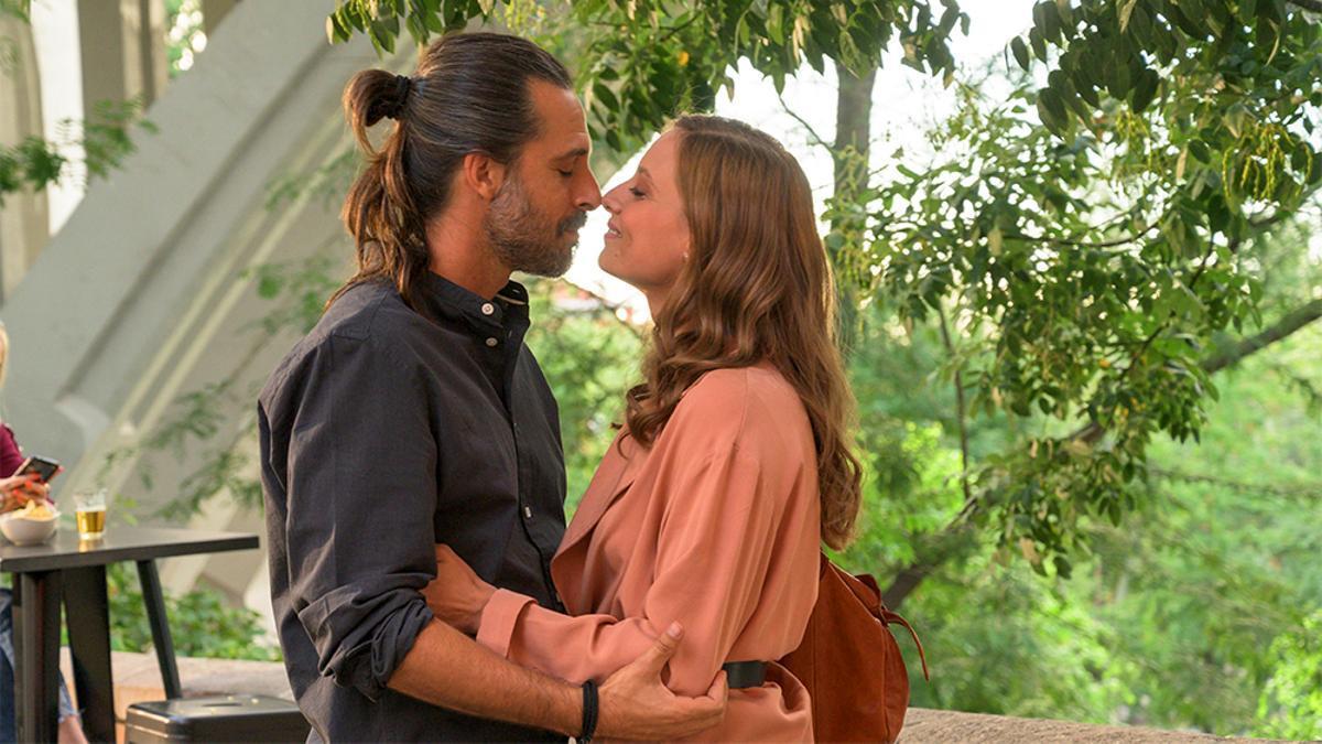 Lucas y Sara en la vuelta de 'Los hombres de Paco'