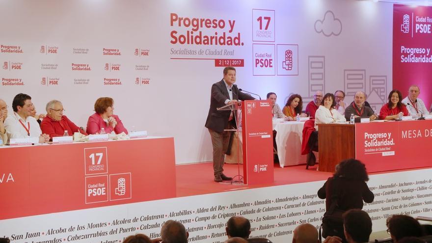 """Page marca distancias entre el PSOE y el """"populismo"""" de izquierdas y las """"políticas de la derecha"""" de Cospedal"""