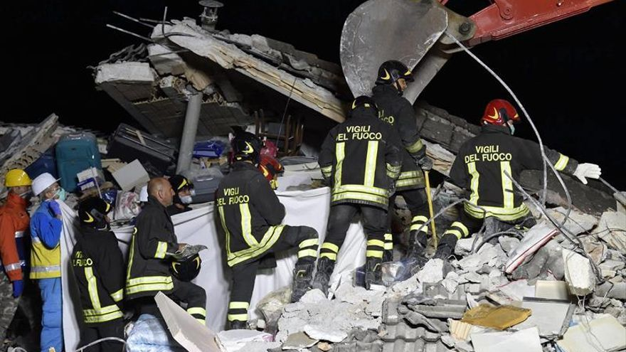 CEOE y UGT expresan sus condolencias por el terremoto de Italia