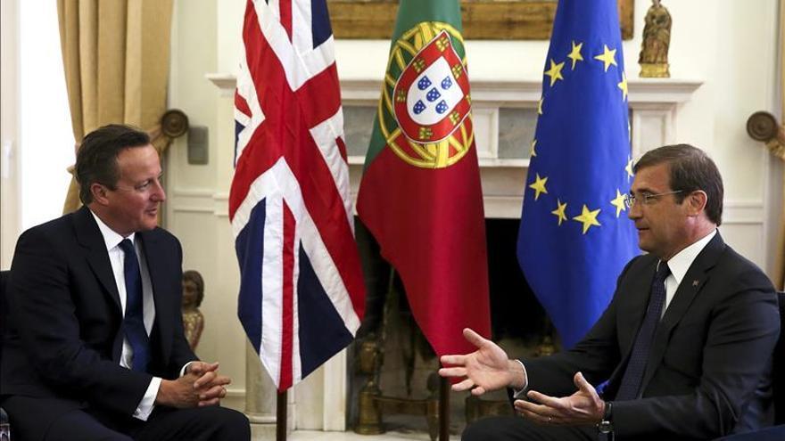 Lisboa y Londres abogan por reformar la UE y hacer más ante la crisis migratoria