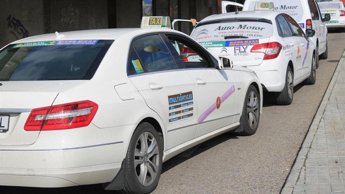 Taxis en Toledo