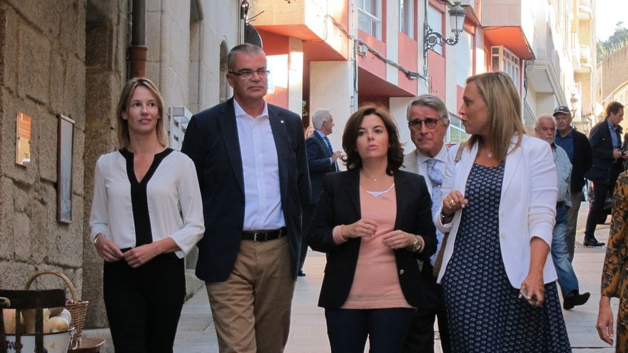 """Soraya Sáenz de Santamaría: """"Como haya terceras elecciones, mi hijo me va a echar de casa"""""""