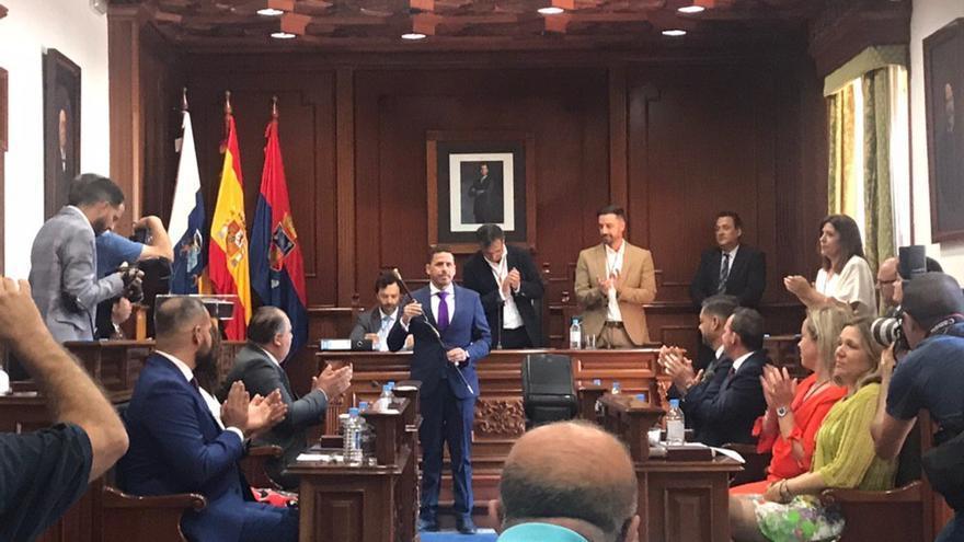 Héctor Suárez (CC) será el alcalde de Telde durante los dos próximos años