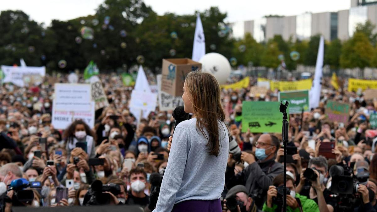 Greta Thunberg en Berlín
