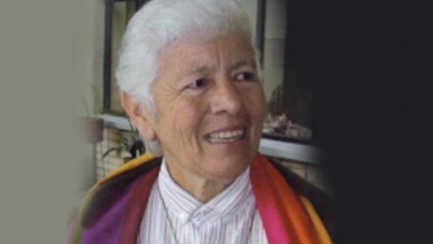 La activista pro Derechos Humanos, Maritze Trigos.