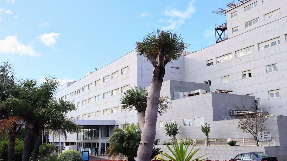 Imagen de archivo  del Hospital Universitario Nuestra Señora de Candelaria, en Tenerife.