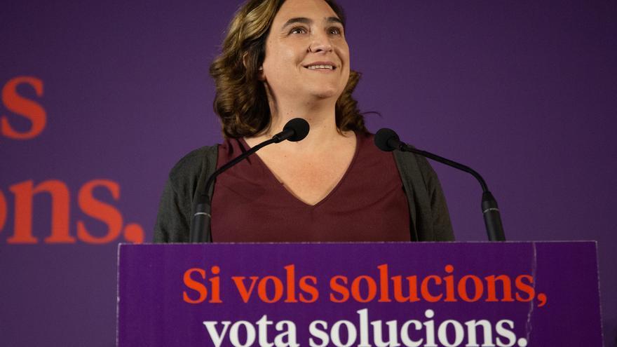 Los comuns cierran su nueva dirección con Ada Colau, Jéssica Albiach y Candela López al frente