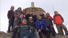 Ximo Puig y Vicent Marzà han subido juntos hasta el pico del Penyagolosa
