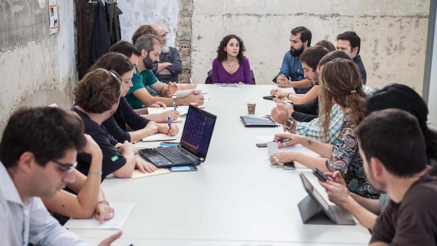 La mesa tuvo lugar en Zaragoza Activa. Foto: Juan Manzanara.